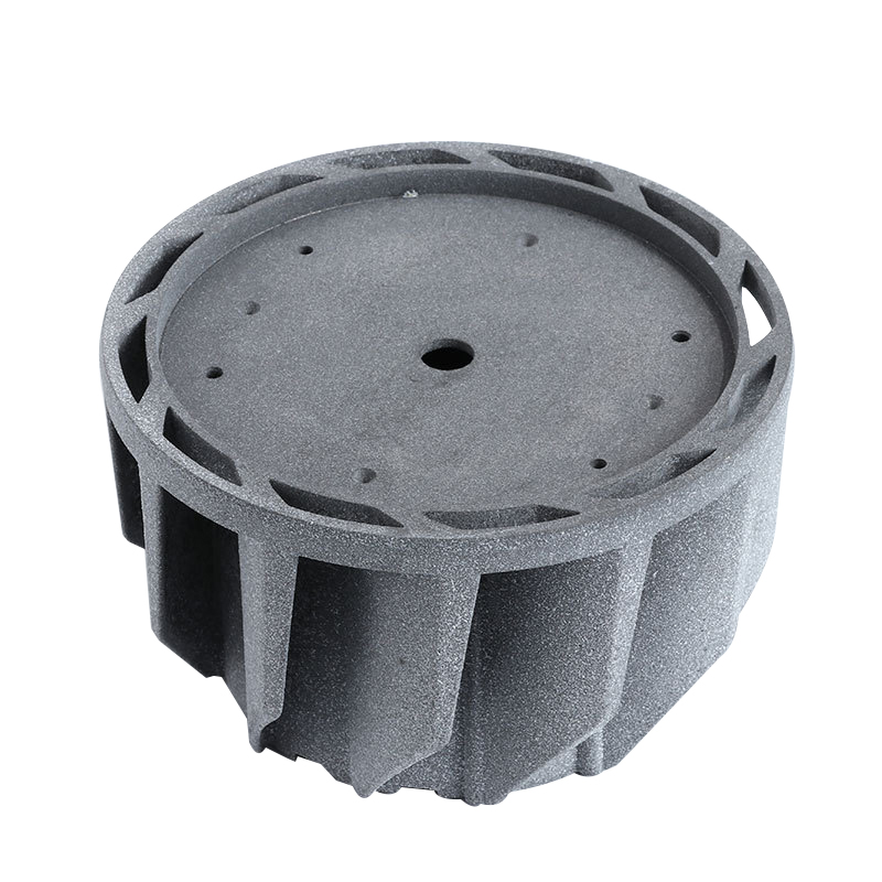 Sandblasting Aluminum Die-casting LED Lamp Heat Sink Accessories