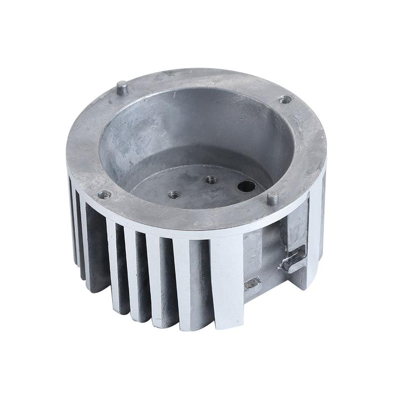 Productos de fundición a presión de aluminio personalizados con taza de lámpara LED de baja potencia