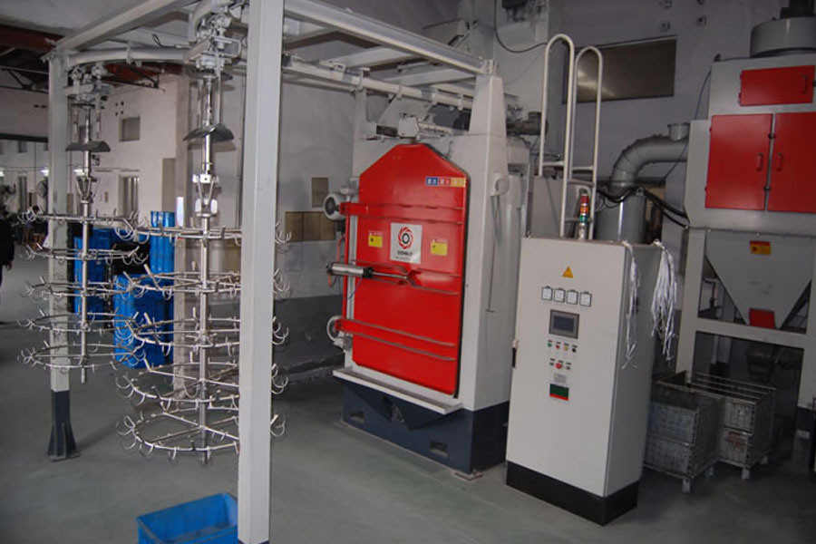 China Minghe Shot Blasting Machine