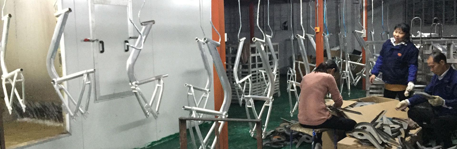 Liejimo formos dviračių dalys - individualūs dviračių komponentai
