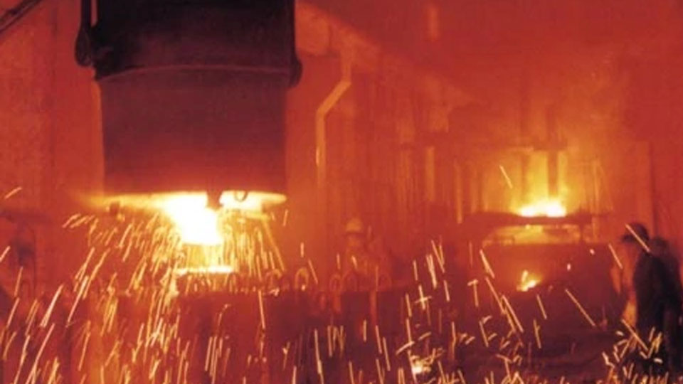 Леярно желязо в Китай