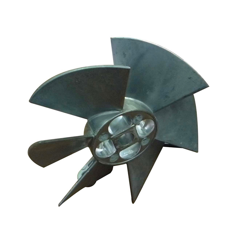 Aluminium Die Casting Electric Motor Fan Blade3
