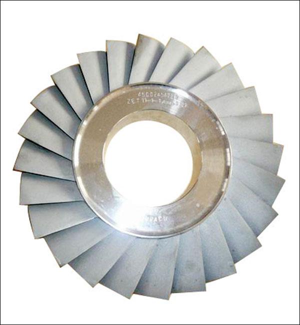 Piezas de turbina de fundición por inversión