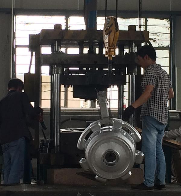 Fundición de metales de China Minghe